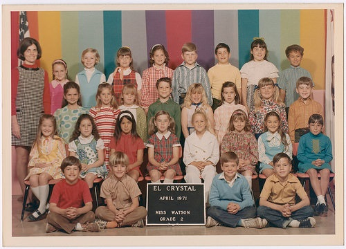 photo credit: David Gallagher El Crystal School 1970-1971 2nd Grade via photopin (license)
