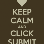 Keep Calm and Click Submit: Tips for NBCT